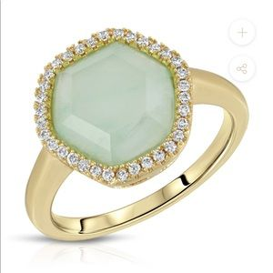 14k gold plated Chole Ring